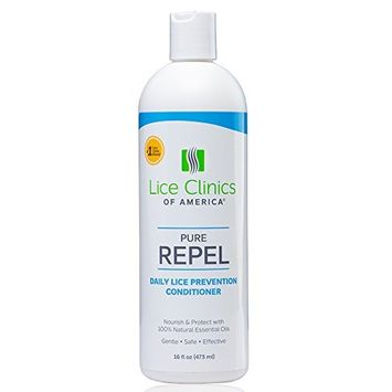 Lice Clinics of America Lice Prevention Conditioner – Repel Lice with 100% Natural Essential Oils