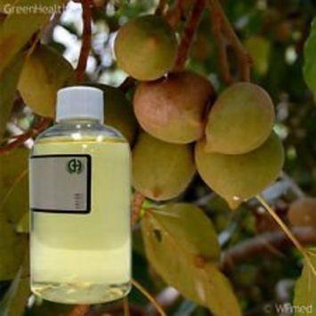 GreenHealth Kukui Nut Oil - 8 fl oz (237 ml) - Cold Pressed 100% Pure