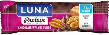Luna Protein Chocolate Walnut Fudge