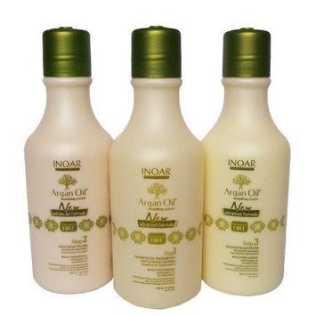Inoar Argan Oil System Kit - 250 ml by Inoar Professional