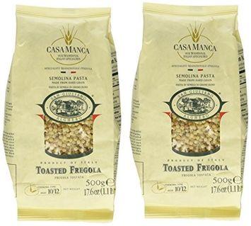 San Giuliano Casa Manca Toasted Fregola Semolina Pasta 17.6 oz
