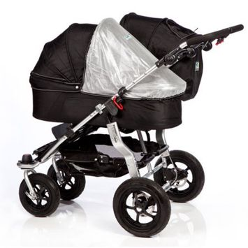 Tfk Trends For Kids Trends For Kids Single Carrycot Sun Cover for Twinner Twist Duo - Silver
