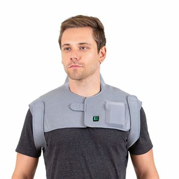 Venture Heat Far Infrared Heated Neck and Shoulder Wrap for Neck Pain and Shoulder Pain - Injury, Sprain Therapy Pad for Pain Relief, FDA Registered