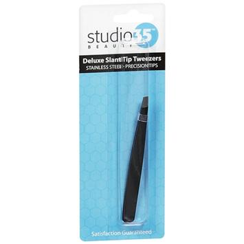 Studio 35 Beauty Deluxe Slant Tip Tweezers