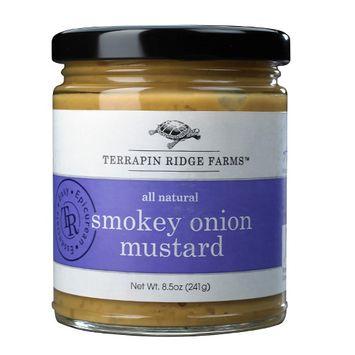 Terrapin Ridge Farms 9011 Smokey Onion Mustard Pack of 3