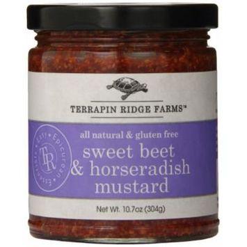 Terrapin Ridge Farms Mustard, Sweet Beet and Horseradish, 10.7 Ounce