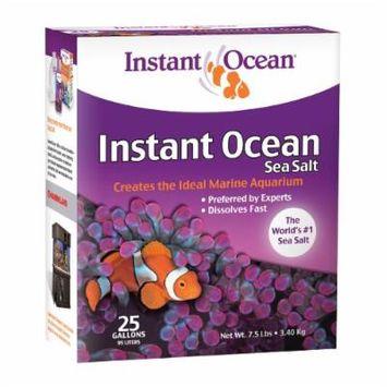 Instant Ocean Sea Salt, 25-Gallon, 7.5 pounds