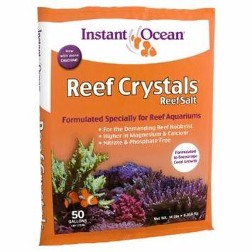 Instant Ocean Reef Crystal Sea Salt Marine Mix, 50-Gallon