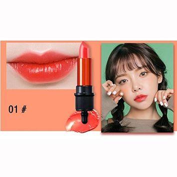 Lipsticks ,Hunputa Waterproof Long Lasting Korean Vivid Matte Lip Gloss Lipstick Cosmetic