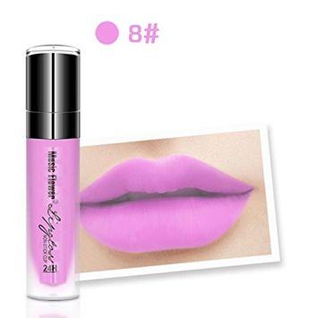 Hunputa Korean Waterproof Long Lasting Matte Liquid Lipstick Lip Pencil Vivid Shiny Lipstick Beauty Makeup Lip Gloss Moisturizing