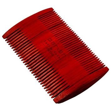 Parker's Indian Rosewood Two Sided Beard & Mustache Comb