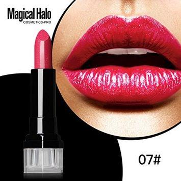 Hunputa Magic Halo Lipstick Frosted Moisturizing Madly Blood Matte Lipstick Waterproof Lip Gloss Cosmetics Makeup