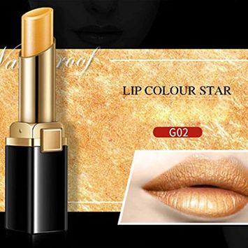 Hunputa 2 IN 1 Matte Lipstick & Eyeshadow Pigment ,Glitte Shimmer Metallic Lip Gloss ,Long Lasting (G