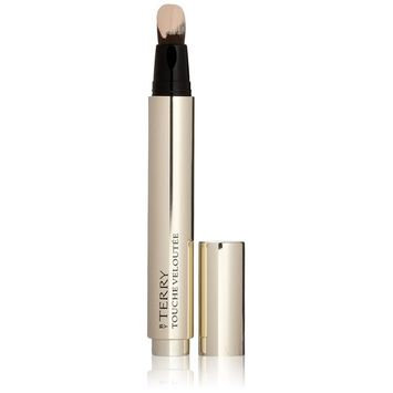 By Terry Touche Veloutee Highlighting Concealer Brush, No. 01 Porcelain, 0.22 Ounce
