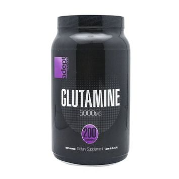Adept Nutrition Glutamine Unflavored - 200 Servings