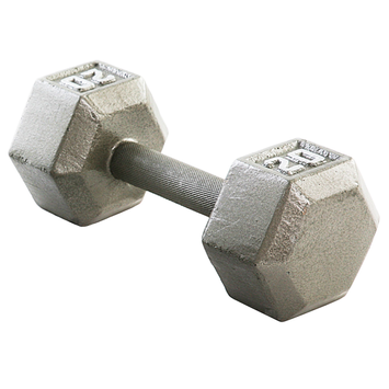 Weider 20 lb. Hex Dumbbell - WEIDER HEALTH AND FITNESS