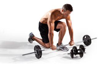 Weider Spin Lock 160 lb. Weight Set - Weider