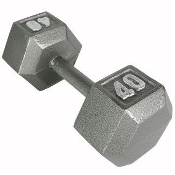 Weider 40 lb. Hex Dumbbell - WEIDER HEALTH AND FITNESS