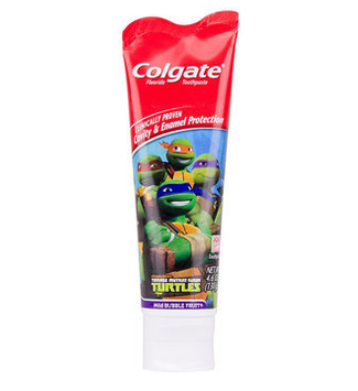 Colgate® TEENAGE MUTANT NINJA TURTLES™ MILD BUBBLE FRUIT® Toothpaste