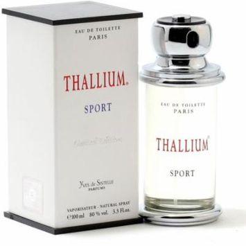3 Pack - Jacques Evard Thallium Sport Eau de Toilette Spray for Men 3.3 oz