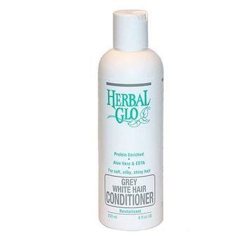 Herbal Glo Grey White Hair Conditioner -- 8 fl oz