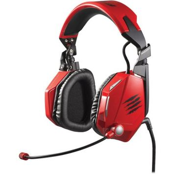 MAD CATZ F.R.E.Q. 5 Gaming Headset - Red