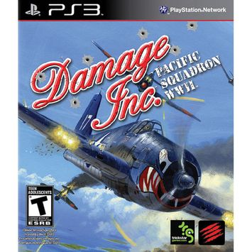 Mad Catz Damage Inc. Collectors Edition Pacific Squadron WWII for PS3