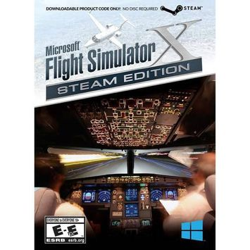 Mad Catz Flight Simulator X: Steam Edition (PC)