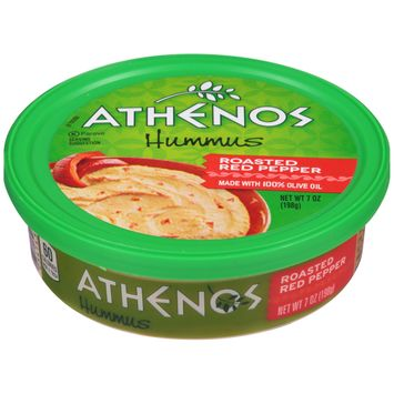 Athenos Roasted Red Pepper Hummus