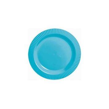 Amscan 209434 Caribbean Premium Plastic Dessert Plates