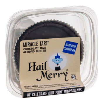 Hail Merry Miracle Tart Chocolate Raw Almond Butter
