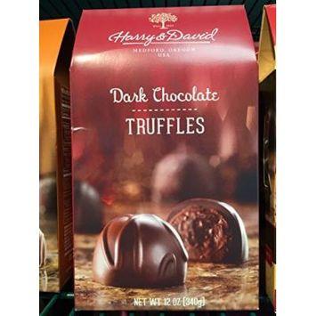 Harry & David Dark Chocolate Truffles 12 oz