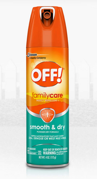 OFF!® FamilyCare Insect Repellent Smooth & Dry