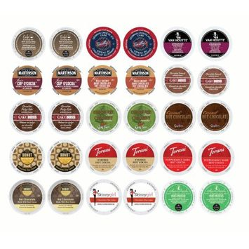 Gns Sales Luxuriously Warm, Delightfully Decadent Flavored Coffee, Hot Chocolate and Chai Variety K-Cup Portion Pack for Keurig Brewers