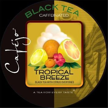 Cafejo K-CJT-TB-1-50 Tropical Breeze Tea K-Cups for Keurig Brewers