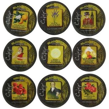 Cafejo Tea Variety Pack K-Cups (24 Cups -$0.64 per cup)