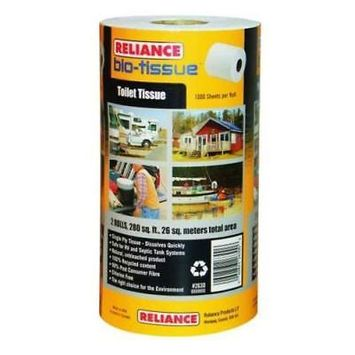 Reliance Bio - Tissue Biodegradable Toilet Paper, 2 Pack