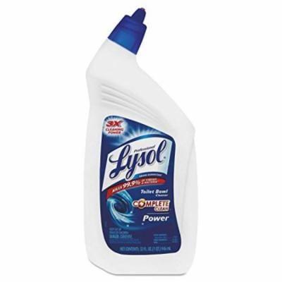 Professional Lysol Toilet Bowl Cleaner - Liquid Solution - 32 fl oz (1 quart) - Wintergreen Scent - Blue, Green