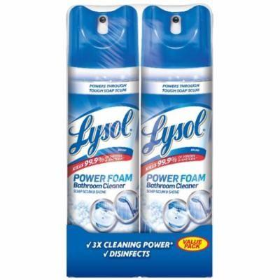 Lysol Bathroom Cleaner Spray, Island Breeze, 48oz (2X24oz)
