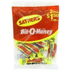 Sathers Bit O Honey Candy