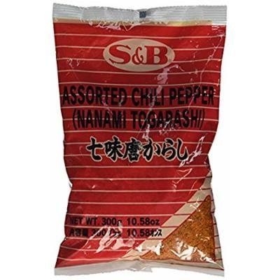 S&B 7 Pepper Spice Mix (Nanami / Schichimi Togarashi) 10.58 oz Pack of 2 By KC Commerce