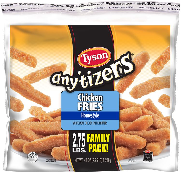 Tyson® Any'tizers® Homestyle Chicken Fries
