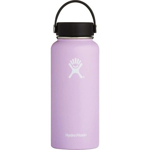 Hydro Flask 32-Ounce Wide Mouth Bottle With Flex Cap, Size One Size - Purple