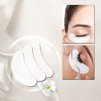 Effect Eye Gel Pad Patches Under Eye Patches Lint Free Lash for Eyelash Extension Grafting Eyelashes Pads 20 Pairs