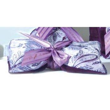 Sonoma Lavender Eye Mask - Silver Paisley