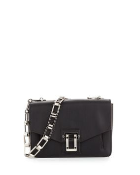Hava Chain Shoulder Bag, Black - Proenza Schouler