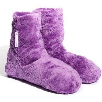 Sonoma Lavender Spa Bootie - Embossed Paisley