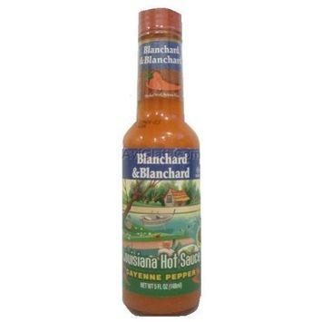 Blanchard & Blanchard Hot Sauce, Louisiana, 5-ounces (Pack of 6)
