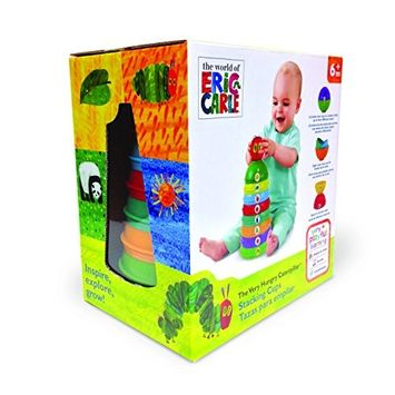 EricCarle (Eric Carle) The Very Hungry Caterpillar Stacking Toys & chime ball