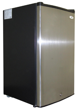 Spt Appliance 3.0 cu. ft. Upright Freezer with Energy Star - Stainless Steel
